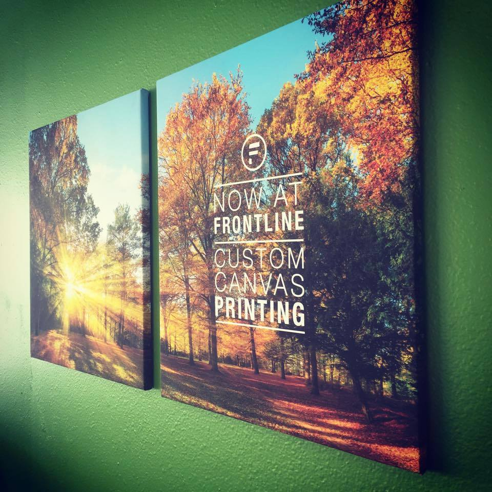 stretch canvas printing iowa